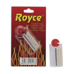 Kamienie i knot do zapalniczek benzynowych Royce