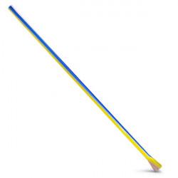Lufka fifka szklana kolorowa 25cm 09