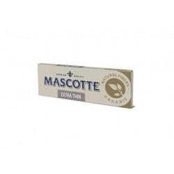 Bibułki bletki Mascotte Organic extra thin