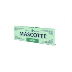 Bibułki bletki Mascotte Green 50 listków