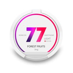 Saszetki nikotynowe 77 Forest Fruits 3mg 20 szt