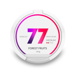 Saszetki nikotynowe 77 Forest Fruits 6mg 20 szt