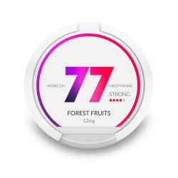 Saszetki nikotynowe 77 Forest Fruits 12mg 20 szt