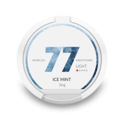 Saszetki nikotynowe 77 Ice Mint 3mg 20 szt