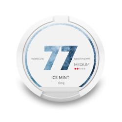 Saszetki nikotynowe 77 Ice Mint 6mg 20 szt