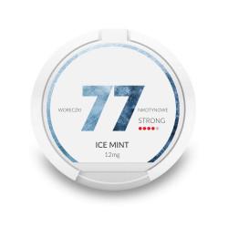 Saszetki nikotynowe 77 Ice Mint 12mg 20 szt