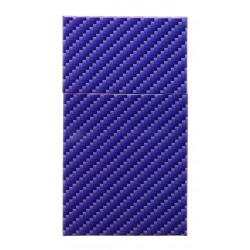 Pudełko etui papierośnica metalowa SLIM niebieska