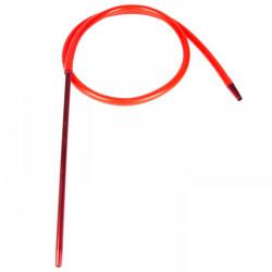 Shisha Fajka Wąż Silikonowy Czerwony 185cm