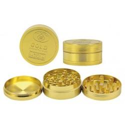 Młynek Grinder Crusher metalowy Gold