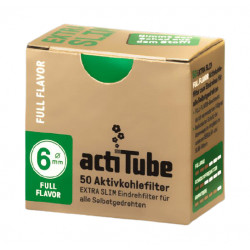 Filtry Węglowe ActiTube Full Flavor Extra slim 50