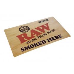 Naklejka Sticker RAW Only Smoked Here