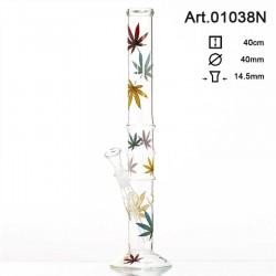 Bongo szklane Multi Leaf 40cm