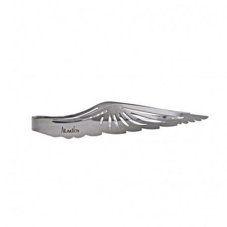 Szczypce do węgielków Aladin Wing srebrne
