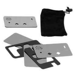 Lufka metalowa karta kredytowa