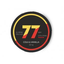 Saszetka nikotynowa 77 Cola Vanilia 20mg