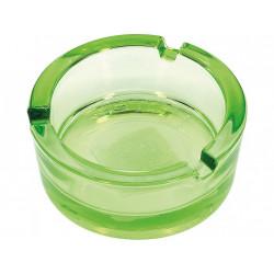 Popielniczka szklana 8,5cm zielona