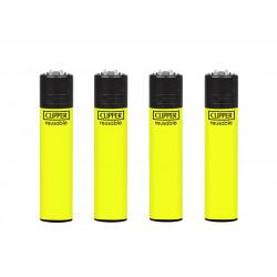 Zapalniczka Clipper Yellow Fluo