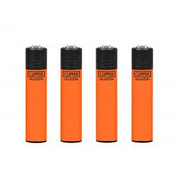Zapalniczka Clipper Orange Fluo