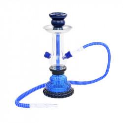 Shisha Atomic Trapez Blue 25cm