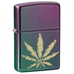 Zippo Cannabis Design 2