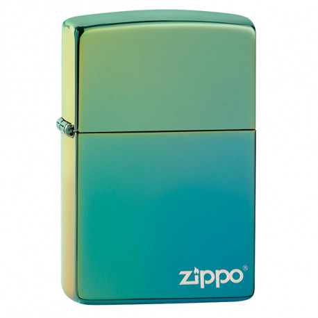 Zippo Lasered Teal