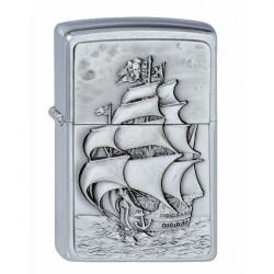 Zippo Pirate's Ship Emblem