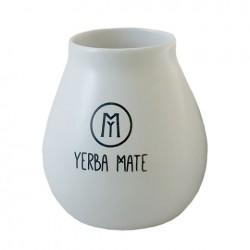 Białe z logo do Yerba Mate
